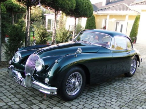 Jaguar XK150 Fixedhead Coupe (green)