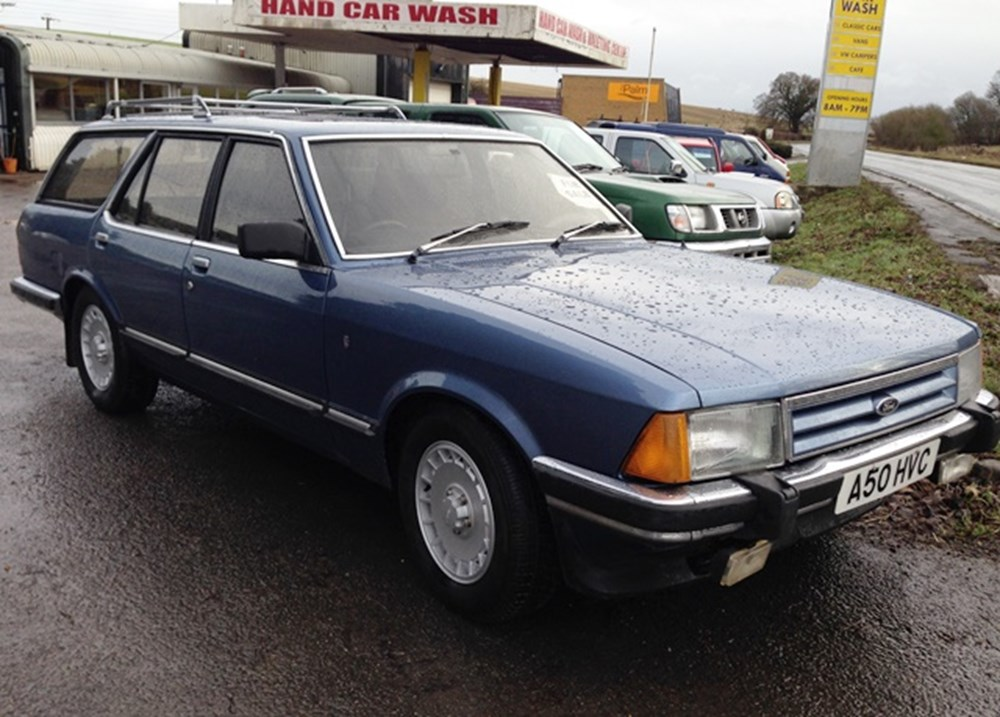 Lot 345 - 1983 Ford Granada Ghia iX Estate