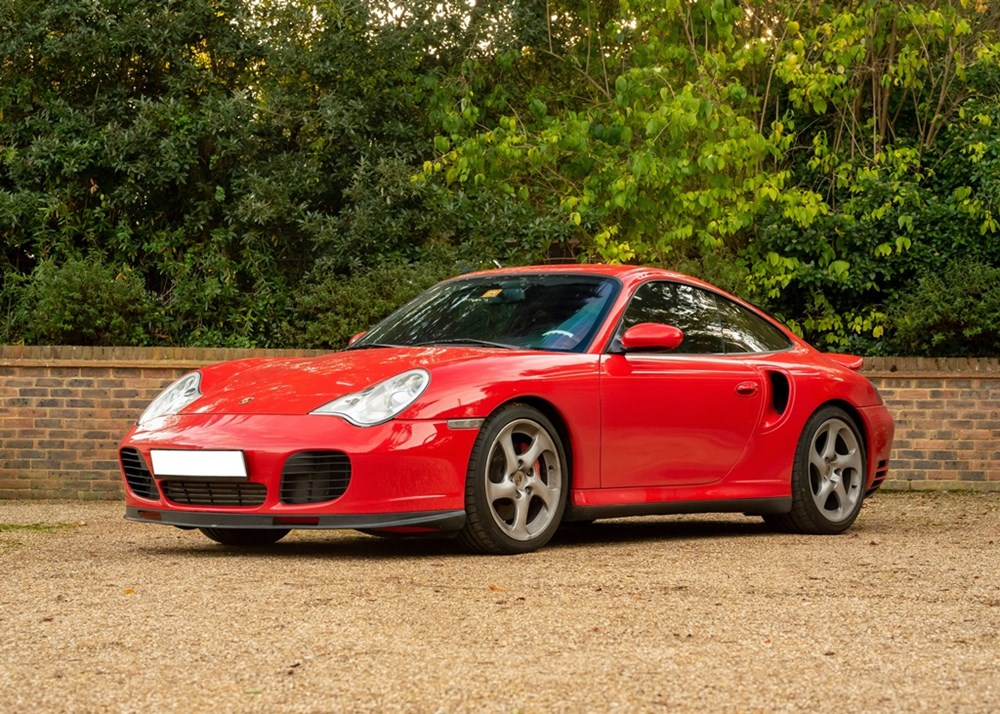 Lot 243 - 2001 Porsche 911 / 996 Turbo