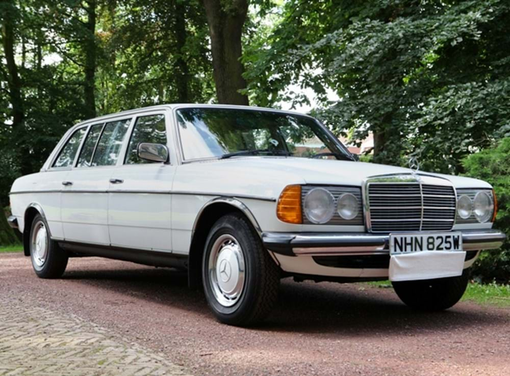 Lot 201 - 1981 Mercedes-Benz 250 Long Wheelbase Limousine