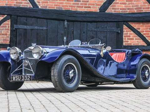 REF 19 1968 Jaguar SS100 by Suffolk