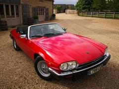 Navigate to Lot 221 - 1988 Jaguar XJS Convertible (5.3 litre)