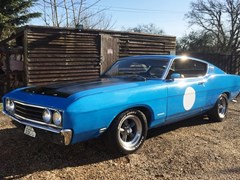 Navigate to Lot 235 - 1969 Ford Fairlane GT Torino Talladega 428 Cobra Jet 1