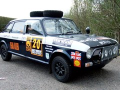 Navigate to Lot 217 - 1969 Austin Maxi '1970 World Cup London to Mexico City Rally Car'