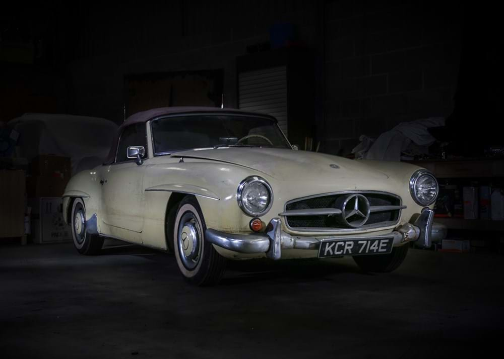 Lot 198 - 1960 Mercedes-Benz 190 SL Roadster