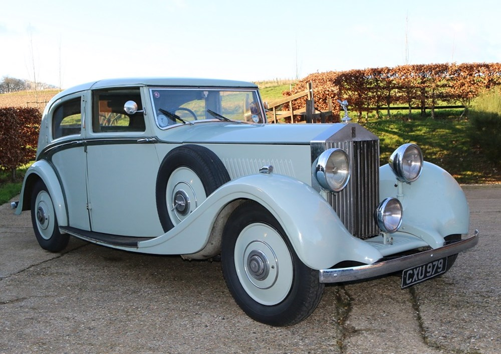 Lot 201 - 1936 Rolls-Royce 25/30 Sedanca de Ville by Park Ward