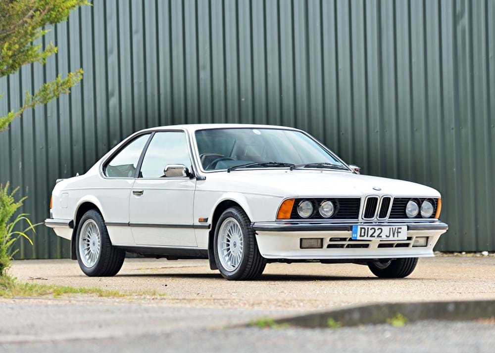 Lot 184 - 1987 BMW 635 CSi