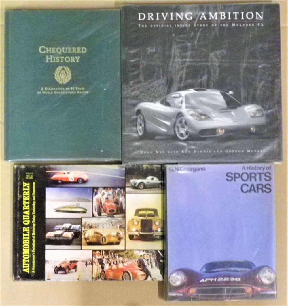Lot 029 - Motoring books.