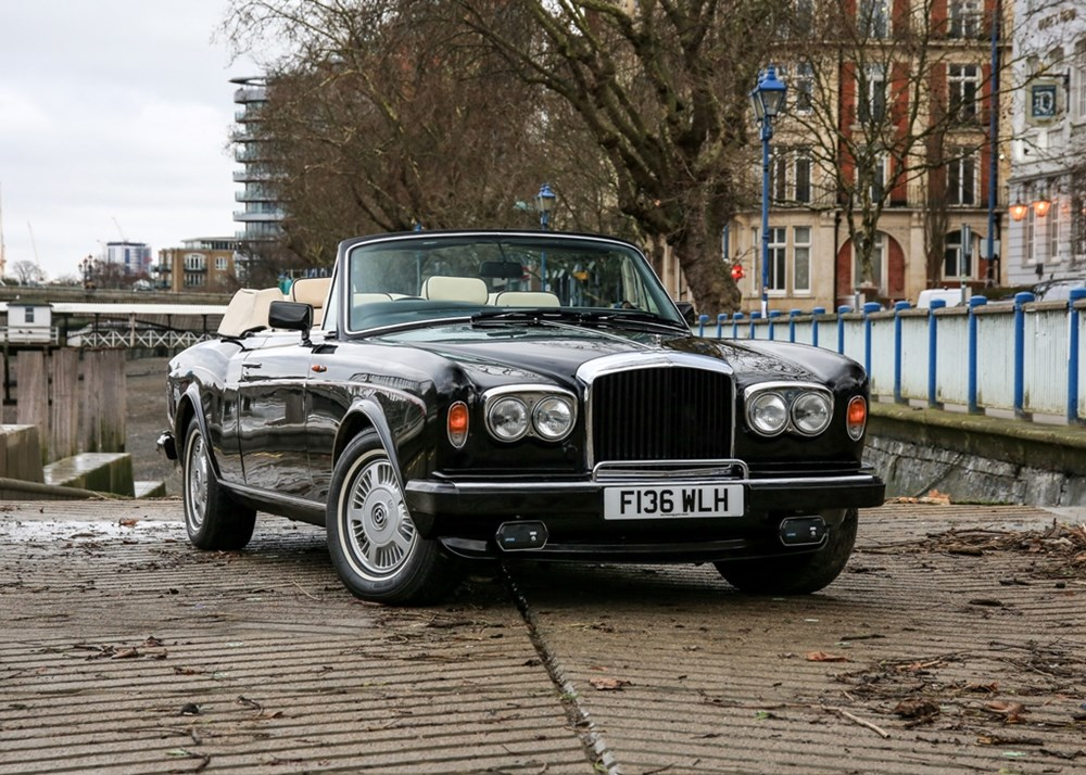 Lot 249 - 1988 Bentley Continental Convertible