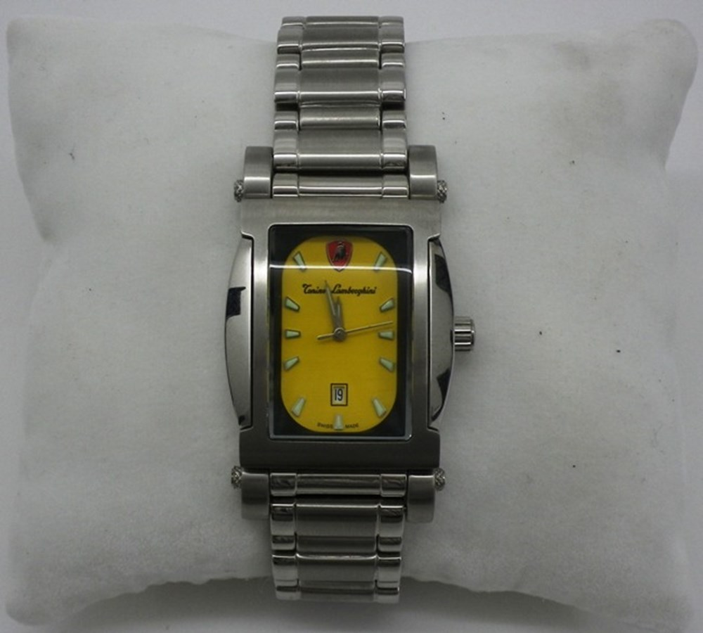 Lot 69 - Lamborghini wrist watch