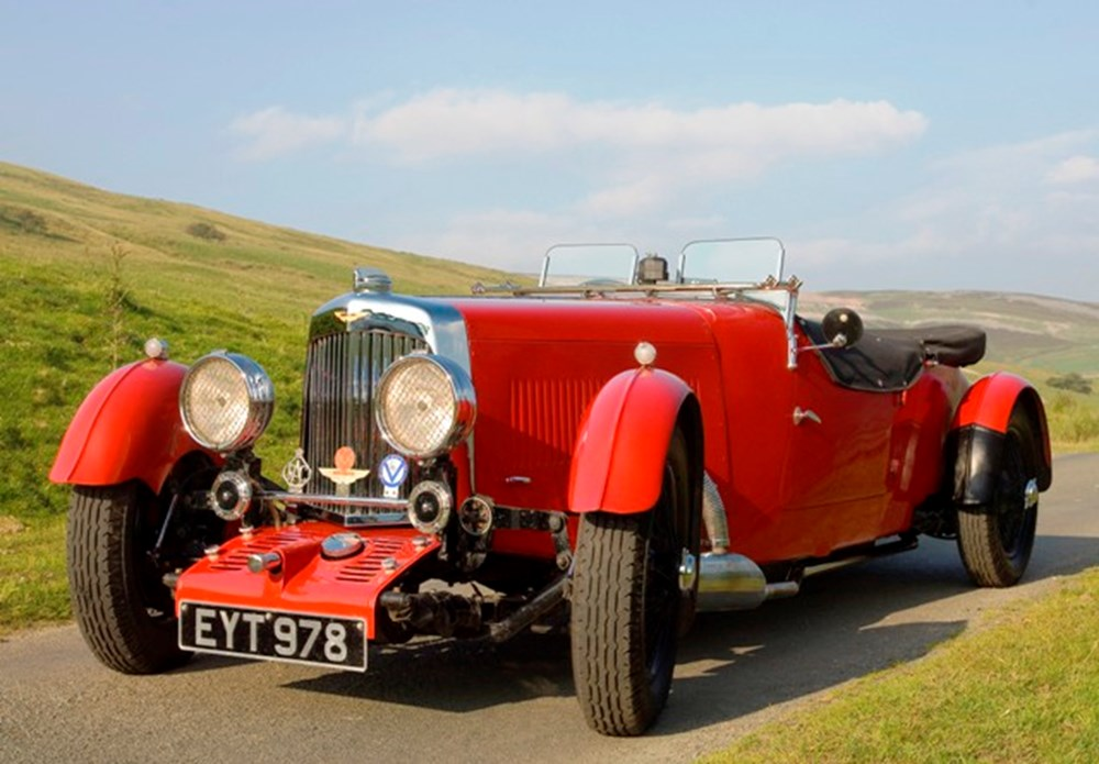 Lot 229 - 1935 Aston Martin 1½ litre Mk. ll Long Chassis Open Tourer