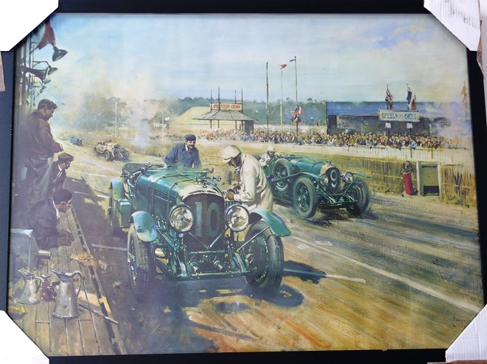 Lot 050 - Motoring prints