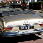 1971 Mercedes-Benz 280SE Convertible -