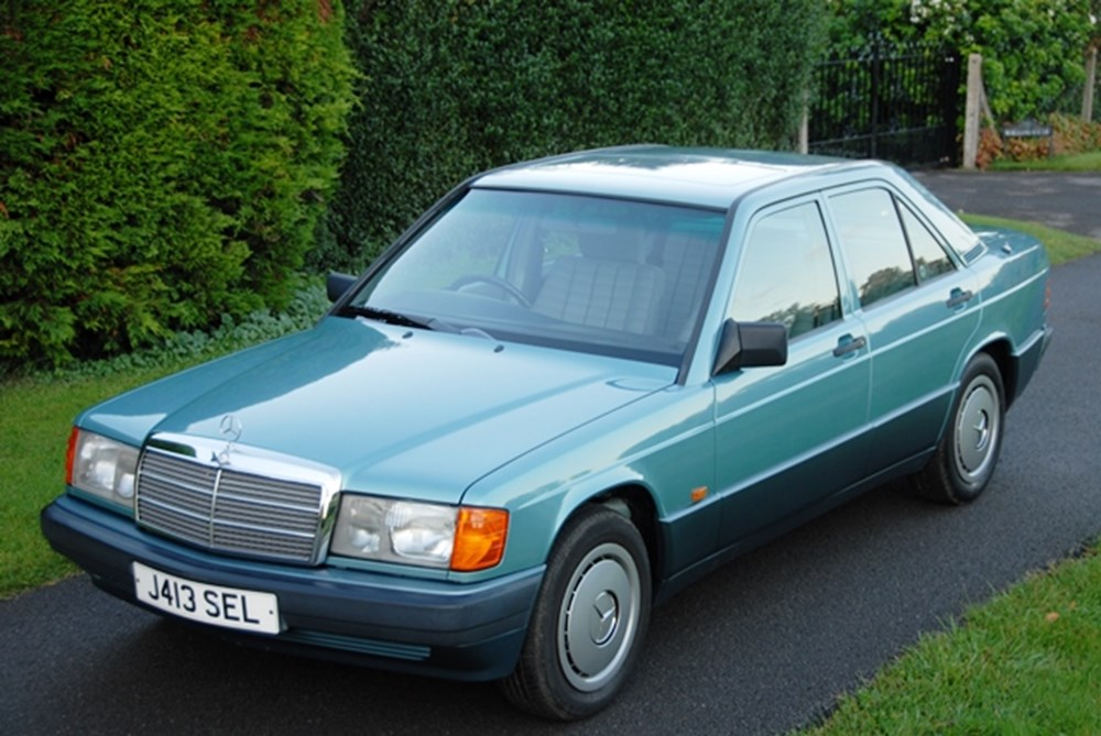Lot 218 - 1992 Mercedes-Benz 190E Saloon