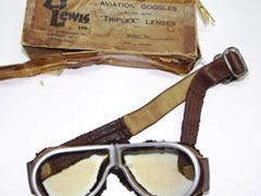 Navigate to Early aviation goggles