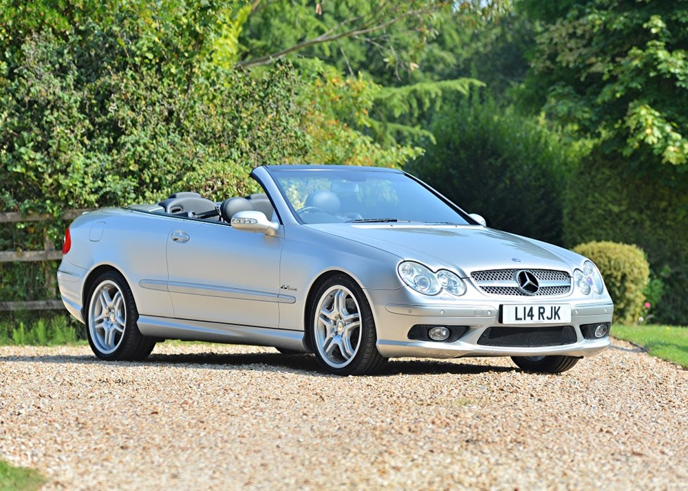 Lot 186 - 2005 Mercedes-Benz CLK55 AMG Avantgarde