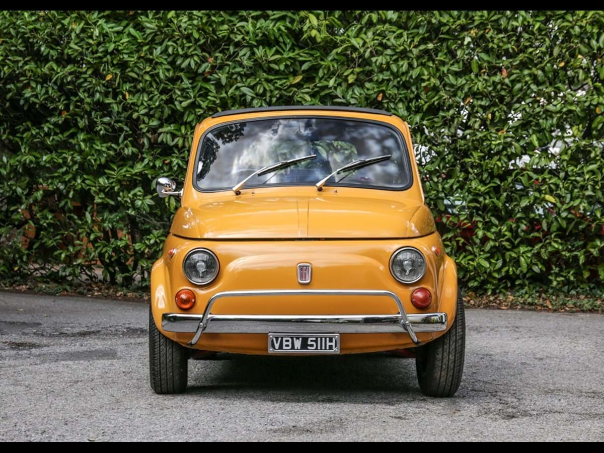 Lot 109 - 1969 Fiat 500L 750 Abarth Evocation