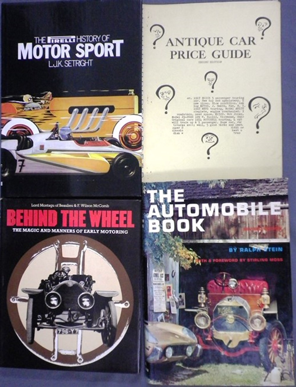 Lot 51 - Eleven motoring books
