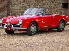 Navigate to Lot 152 - 1957 Alfa Romeo Giulietta Spider