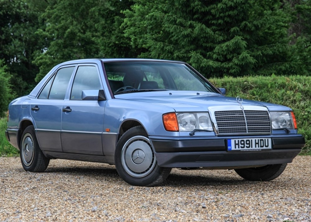 Ref 58 1990 mercedes benz 260 e for Mercedes benz 260