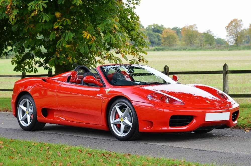 Lot 246 - 2005 Ferrari 360 Modena Spider