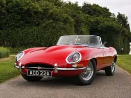 Ref 89 1961 Jagaur E-Type Series I Roadster 'Flat Floor'