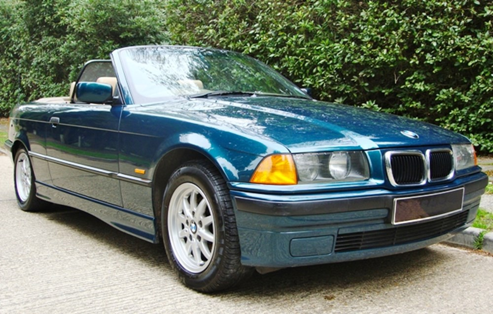 Lot 447 - 1998 BMW 318 Convertible