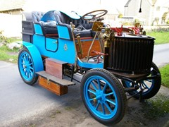 Navigate to Lot 287 - 1905  Gardner-Serpollet 15hp Model Four Seater Type F1 (Steam Car)