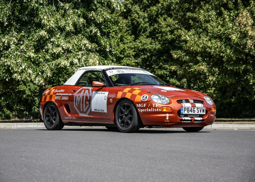Lot 290 - 1997 MG F Cup