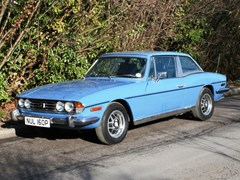 Navigate to Lot 317 - 1976 Triumph Stag