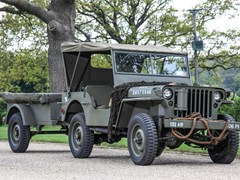 Navigate to Lot 145 - 1943 Willys Jeep & Trailer
