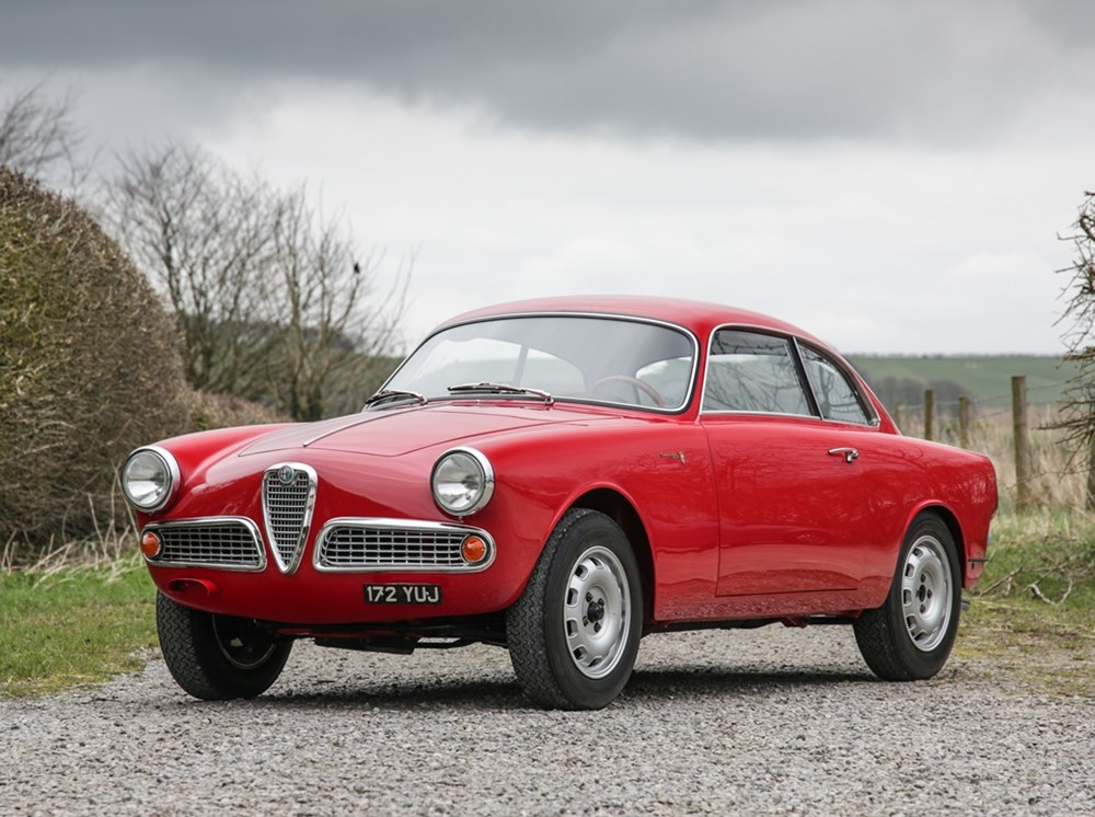 Lot 158 - 1960 Alfa Romeo Giulietta Sprint  *AMENDED ESTIMATE*