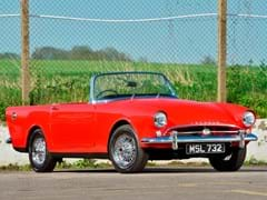 Navigate to Lot 121 - 1961 Sunbeam Alpine Series II