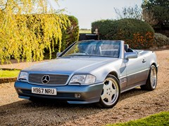 Navigate to Lot 216 - 1991 Mercedes-Benz SL 500 Roadster