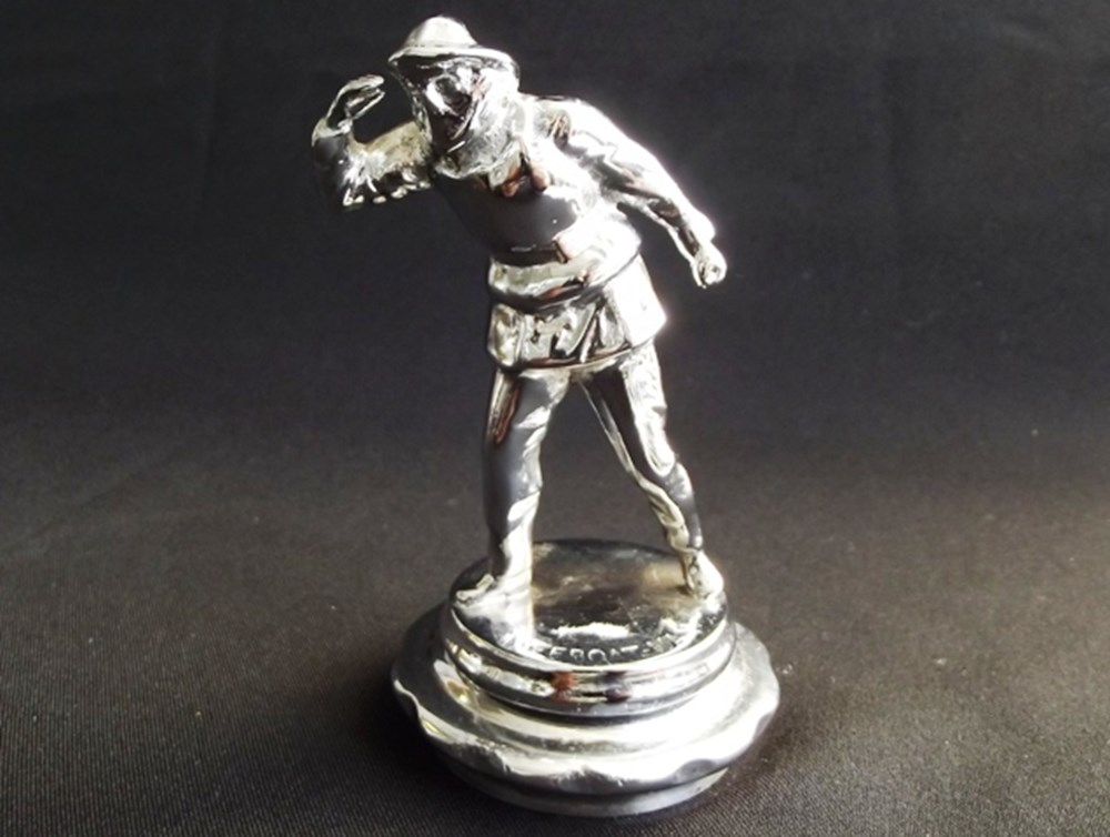 Lot 096 - Lifeboat man motor mascot