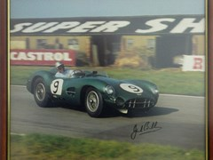 Navigate to A signed Jack Brabham print.