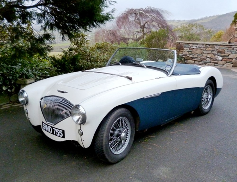 Lot 248 - 1955 Austin-Healey 100/4 BN2 Up-rated to 100M Specification