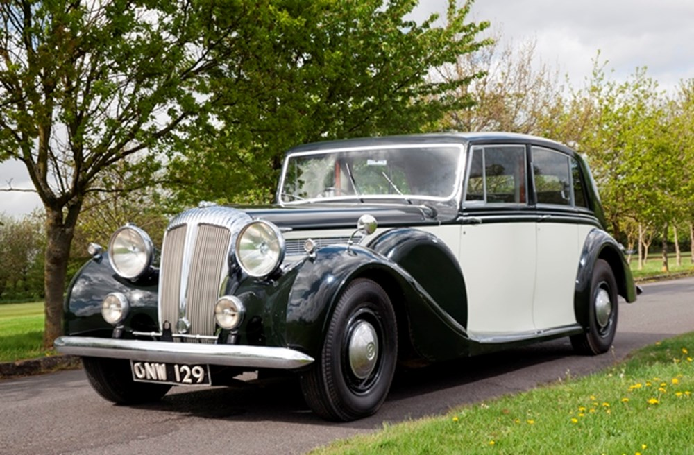 Lot 167 - 1950 Daimler DE36 Touring Limousine by Freestone & Webb