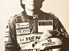 Navigate to Ayrton Senna canvas.