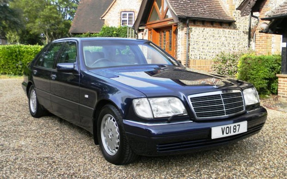 1996 mercedes benz s500 classic sports car auctioneers for 1996 mercedes benz s500
