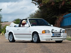 Navigate to Lot 106 - 1989 Ford Escort 1.6 Cabriolet