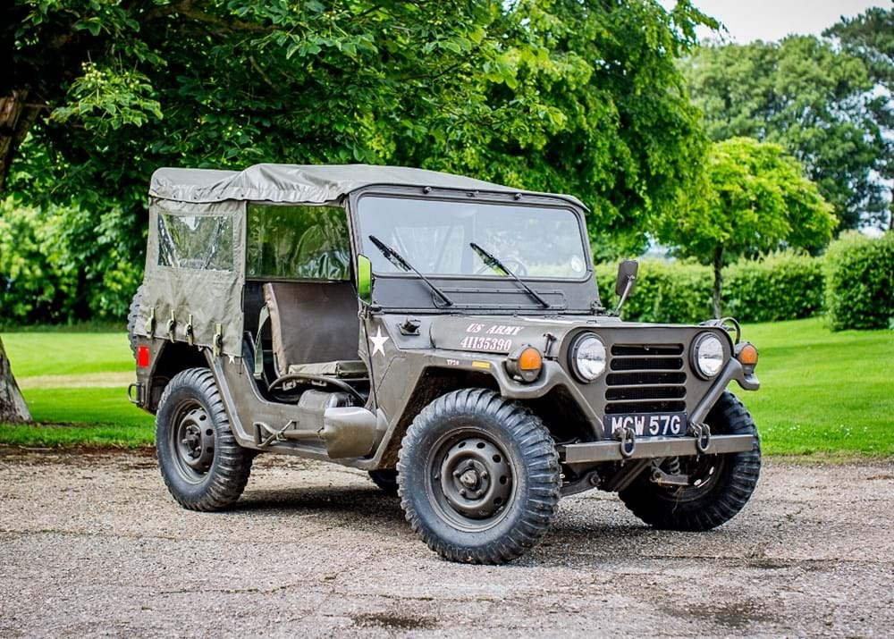 Lot 267 - 1968  AMC Mutt Jeep M 151 A2