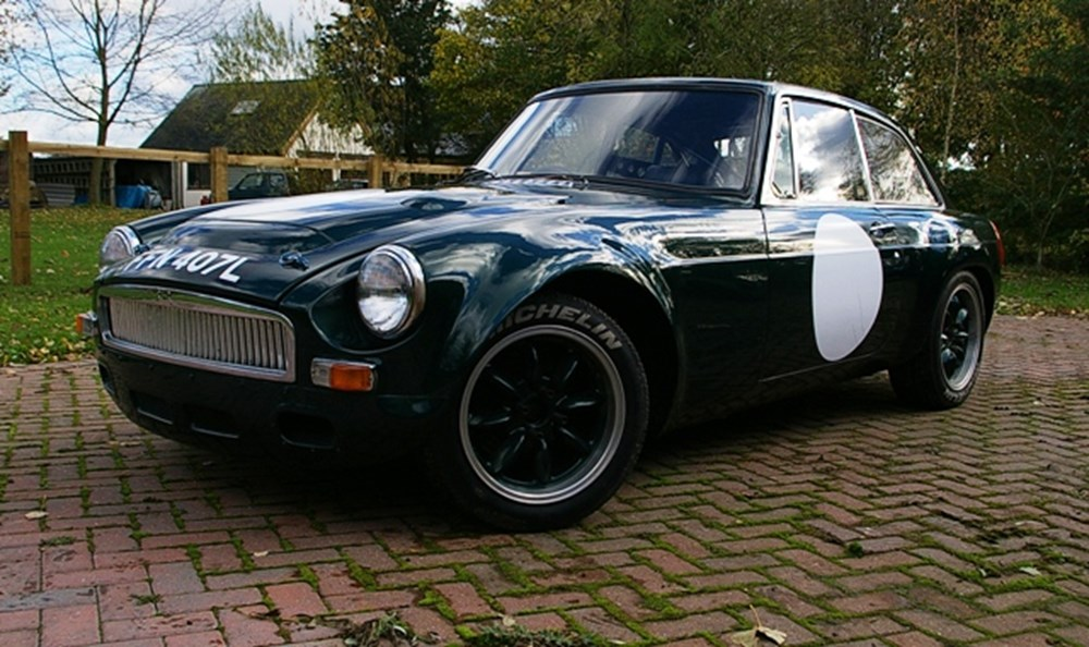 1972 MG BGT V8 Sebring Recreation Race Car
