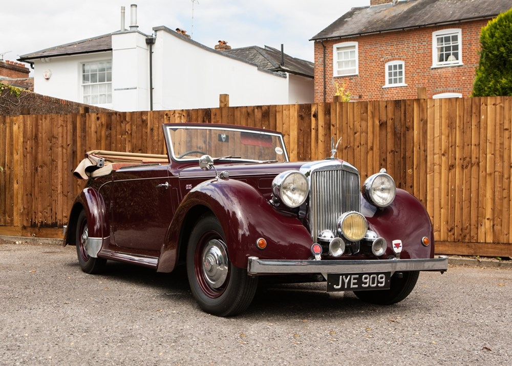 Lot 212 - 1948 Alvis TA14 Drophead Coupé