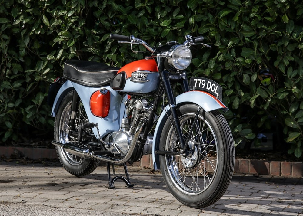 Lot 108 - 1961 Triumph T20 Tiger Cub