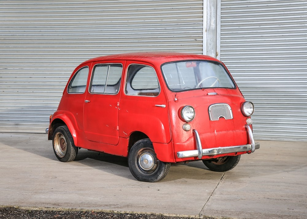 Lot 203 - 1959 Fiat 600 Multipla Restoration