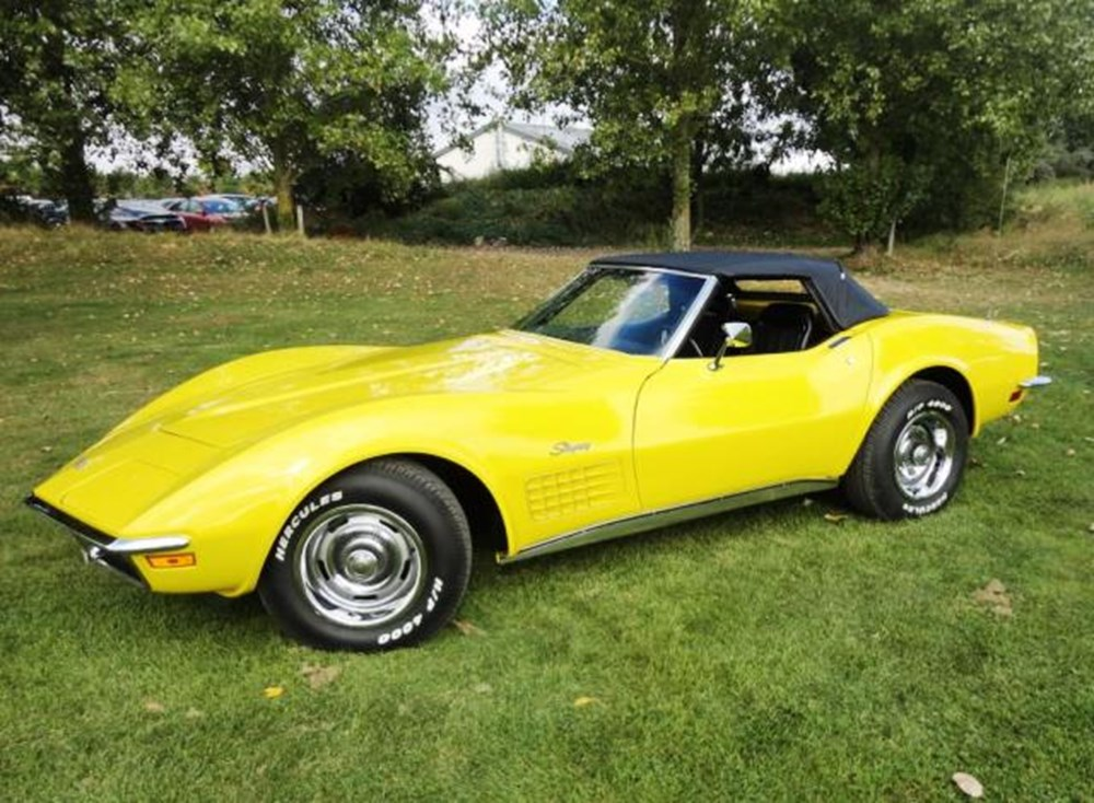 Lot 293 - 1971 Chevrolet Corvette Convertible