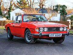 Navigate to Lot 113 - 1976 Triumph Stag