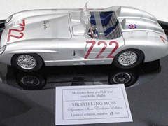 Navigate to Mercedes-Benz 300 SLR Model