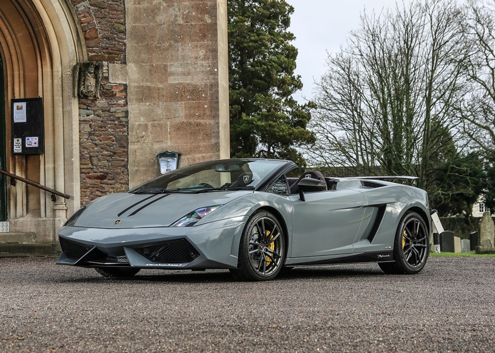 Lot 168 - 2007 Lamborghini Gallardo Spyder 'LP570 Performante-style'